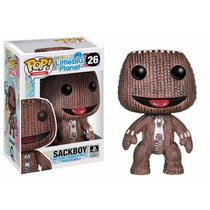 Sackboy Funko Pop Little Big Planet Play Station Original