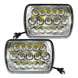Par Faros 15 Led  5x7 Rectangular Unidad H6054- Tunix