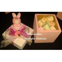 Recuerditos Bolos Baby Shower Conejitos Bautizo Arca De Noe