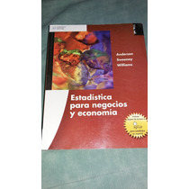 Estadistica Para Negocios Y Economia. Anderson