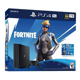 Consola Playstation 4 Pro 1 Tb Fortnite Nuevo Ps4 Pro