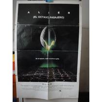 Poster Original Alien Sigourney Weaver Ridley Scott 1979