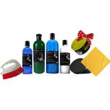 Kit Deluxe Shampoo Cera Adic-apc Armor-all Gel Llantas