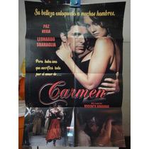 Poster Original Carmen Paz Vega Leonardo Sbaraglia Vicente
