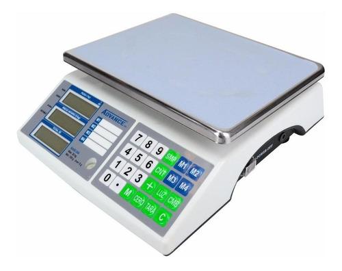 Báscula Comercial Digital Advance Rh Base-30a 30 Kg 90v - 240v