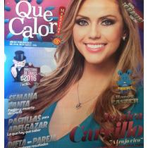 Jessica Carrillo Revista Que Calor!