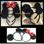 12 Orejas Mickey Y Minnie Mouse