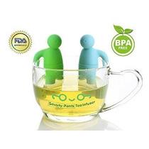 Té Infuser Herbal Especias Té De Las Hojas Colador Filtro Y