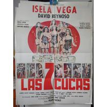Poste Las Siete Cucas Isela Vega David Reynoso Felipe Cazals