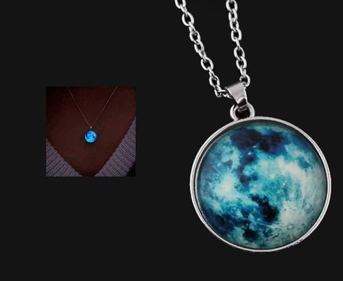 4e4e58c9257d Juego Collar Luna Brilla Collares Parejas Dije en venta en Monterrey ...