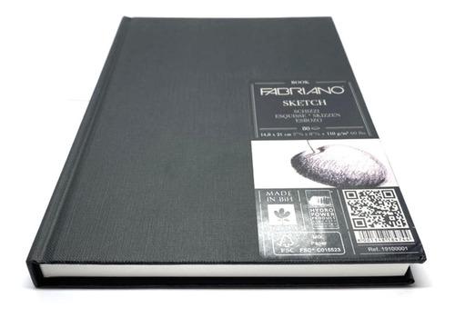 Sketchbook Art Book Libro De Dibujo Tipo Canson Pasta Dura