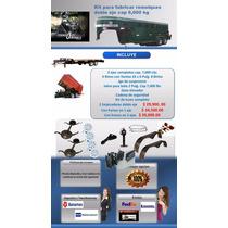 Kit Para Fabricar Remolques Cap 6 Tons Incluye Llantas