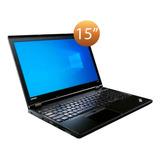 Laptop Lenovo Thinkpad L560 Intel Core I5 6300u 8gb 500gb