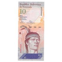 Billete Venezuela 10 Bolivares (2011) Aguila Arpia