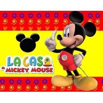 Kit Imprimible La Casa De Mickey Mouse Fiesta Cumpleaños