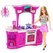 Barbie Cocina Juego Set Glam Cocina!