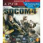 Socom 4 Us Navy Seals - Playstation 3