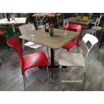 Sillas Mianso Con Mesa Patina Restaurantes Y Cafeterías