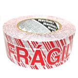 Cinta Empaque Frágil Adhesiva 48x150 Super Fijación Visible