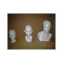 Cabeza Craneo Busto De Unicel Papeleria
