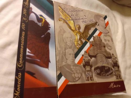 Álbum Completo Colección Monedas $5 Pesos Mexicanos Conmemor