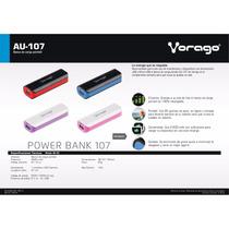 Power Bank Vorago Au-107 2600 Mah Negro/rojo -compra Calidad