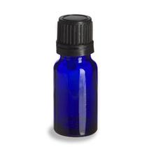 Gotero De Cristal Azul Cobalto 10ml. Envases De Vidrio
