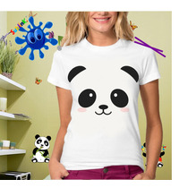 Playeras De Panda Moda Sublimadas , Personalizadas , Fiesta