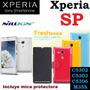 Funda Piel Nillkin Fresh Sony Xperia Sp, C5302, C5303, C5306