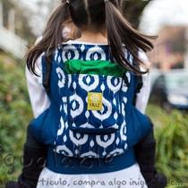 Portador Para Bebes Lillebaby Azul Con Blanco