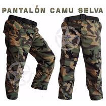 Pantalon Tactico Comando Militar Camuflaje Gotcha V. Colores