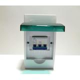 Interruptor 3 Polos Elegir A Y Caja De Distribución Plástico