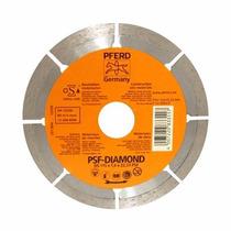 Disco Diamante 4-1/2 X 7/8 Ds-segmentado Pferd