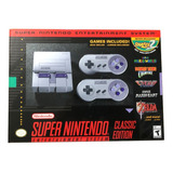 Super Nintendo Classic Edition Mini Incluye 21 Juegos Ultima