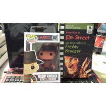 Freddy Krueger, Pesadilla En Elm Street, Libro Y Funko Origi