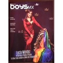 Revista Gay Boysmx , Junio 2015, Lucía Méndez En Portada