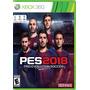 Pro Evolution Soccer 2018 Pes 2018 Xbox 360 Nuevo