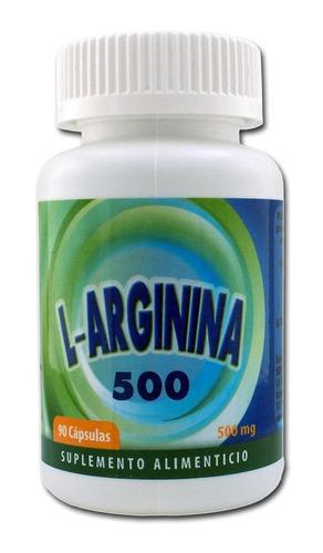L-arginina 500 Con 90 Cápsulas Marca Sehyex $150 dcPCa