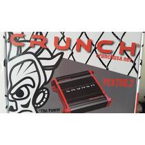 Amplificador Crunch 750 W 2 Canales Pzx750.2