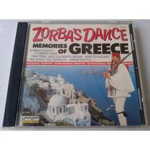 Zorba S Dance Memories Of Greece Cd Made In U.s.a. 1989 Bvf