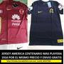 Jersey Club América Centenario Mas Playera 1916 Algodón