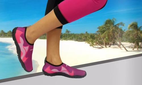 5058fa1093 Zapato Acuatico Svago Modelo Tiburon Color Rosa. Precio: $ 188 Ver en  MercadoLibre