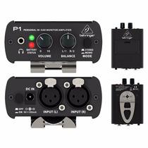 Amplificador Personal De Audifonos In-ear Behringer P1 Winne