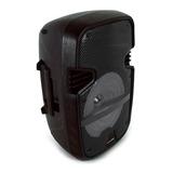 Bafles Amplificados Bocina Bluetooth 8 Pulgadas Recargable Portatil Microfono Larga Duracion Karaoke Usb Fm Auxiliar