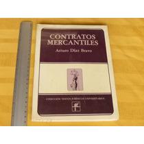 Arturo Díaz Bravo, Contratos Mercantiles, Harla, México.