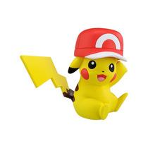 Figura Pokemon Pikachu Con Gorra De Ash Takara Tomy® Xy