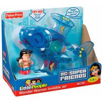 Jet Invisible Mujer Maravilla De Fisher-price Wonder Woman