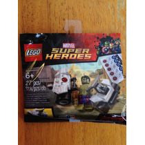 Set De 2 Polybags Lego Marvel Hulk Y Rocket Adriel