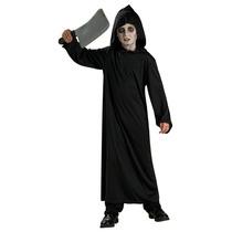 Horror Niños Traje - Negro Robe Medio - Halloween Scary