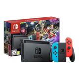 Nintendo Switch 32gb Mario Kart 8 Deluxe Rojo Neón, Azul Neón Y Negro